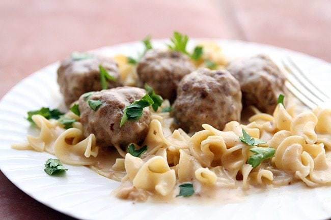 Turkey Swedish Meatballs The Kitchen Magpie