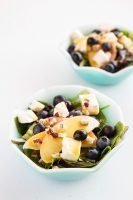 Blueberry Apple Swiss Salad with French's Dijon Mustard Vinaigrette