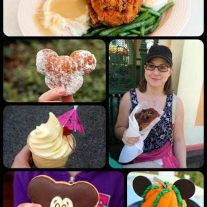 collage of Disneyland food bucket list