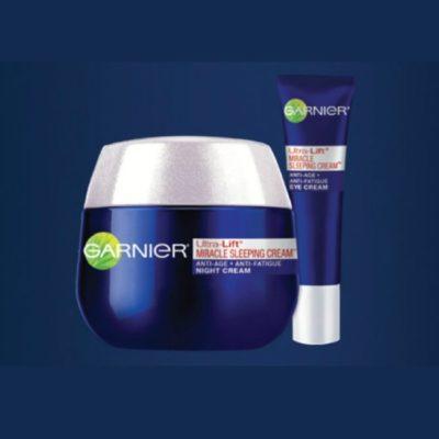 Garnier Ultra-Lift Miracle Sleeping Night Cream Giveaway!