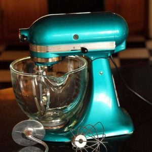 jade blue color stand mixer