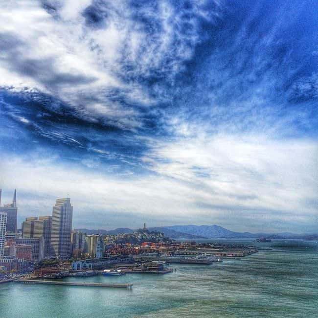 View of San Francisco Waterfront