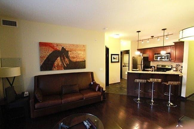 bedroom suite in Grande Rockies Resort