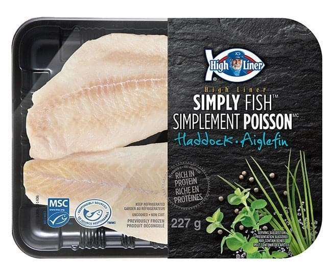 A Pack of Highliner Brand Simply Fish Haddock