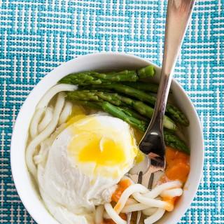 10 Minute Eggy Udon Noodles
