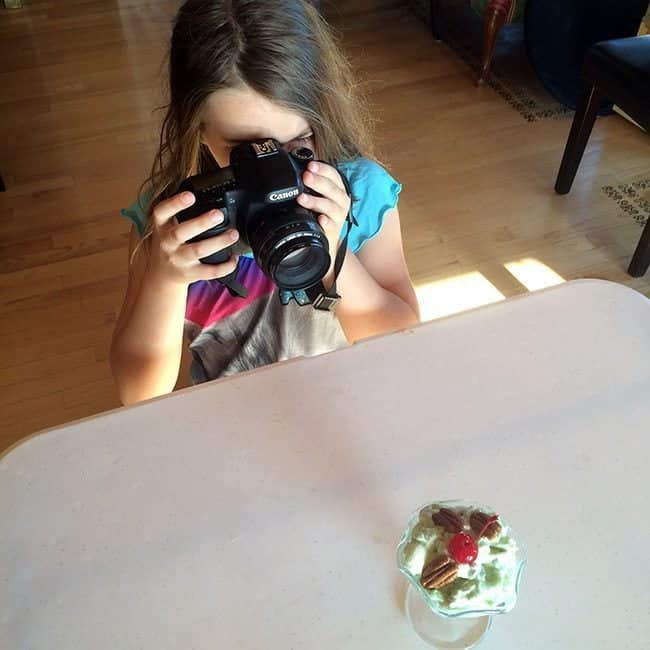 Photographing Watergate Salad