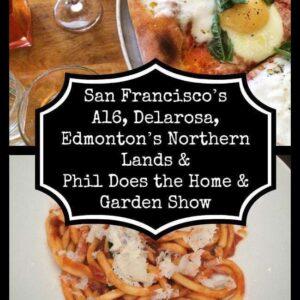 collage of Edmonton's Northern Lands & Garden Show