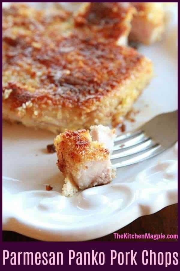 Parmesan Panko Pork Chops - The Kitchen Magpie
