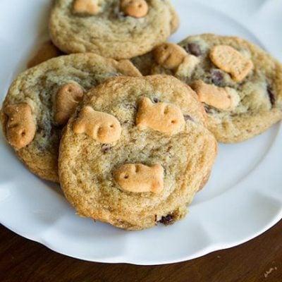 Goldfish Crackers® Chocolate Chip Cookies