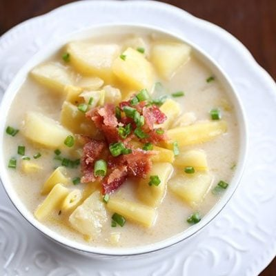 Creamy Yellow Bean & Potato Soup