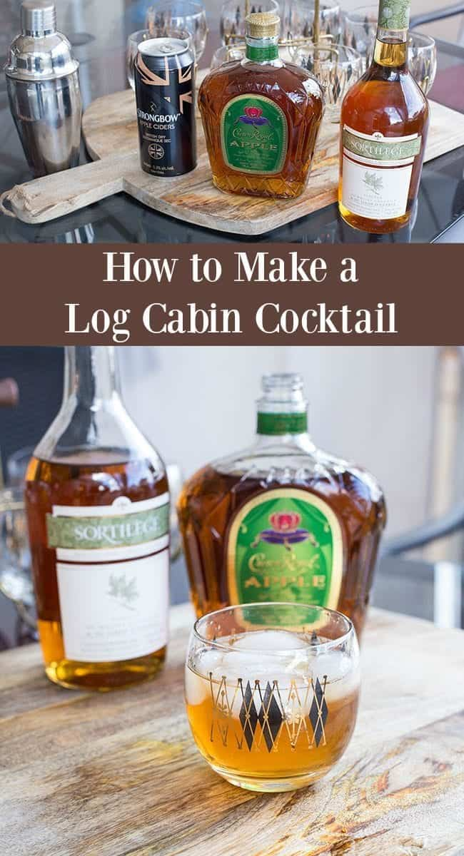 How to make a Log Cabin Cocktail from @kitchenmagpie