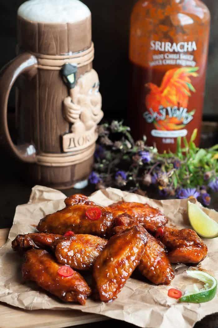 Crispy-Honey-Sriracha-Wings-1