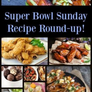 Collage of Super Bowl 2018 Recipes Round Up