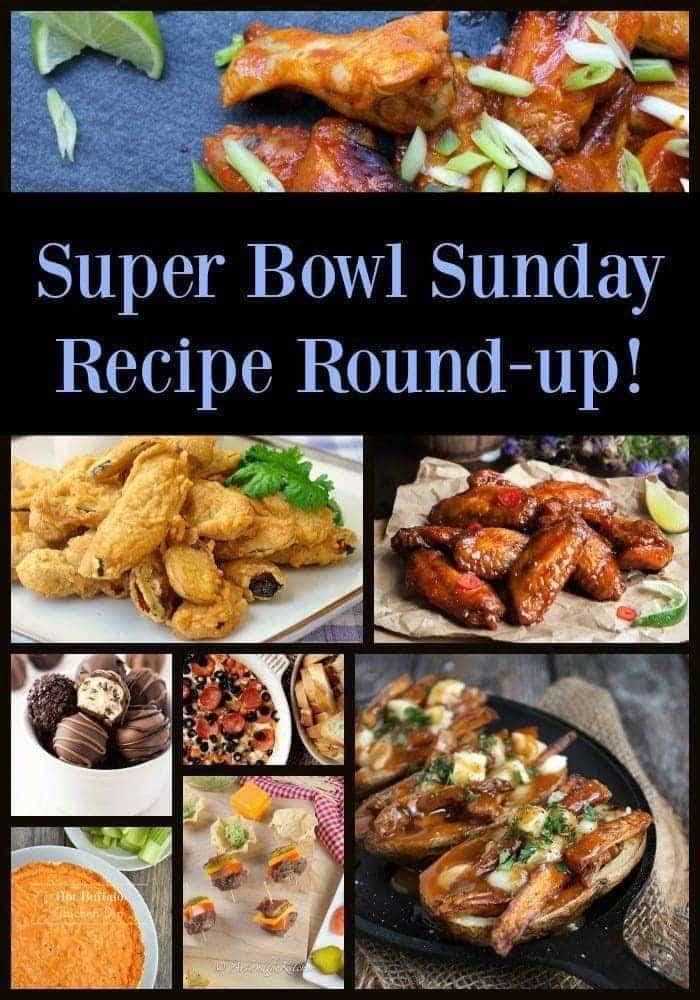 Super Bowl Sunday Recipe Round Up