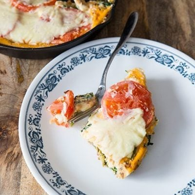 Vegetable Pizza Breakfast Skillet