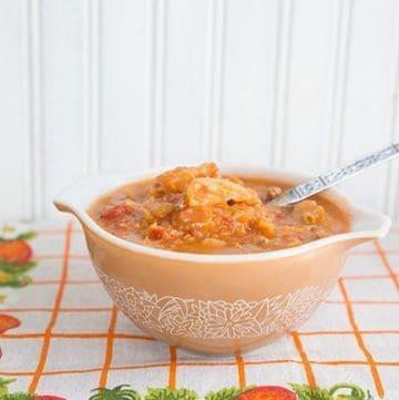 Ukrainian Cabbage Roll Soup