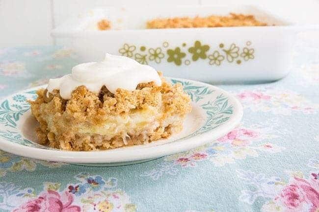 Pineapple Soda Cracker Dessert from @kitchenmagpie