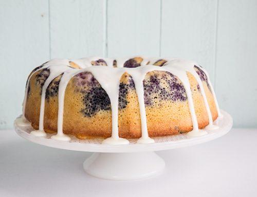Blueberry Lime Bundt Cake