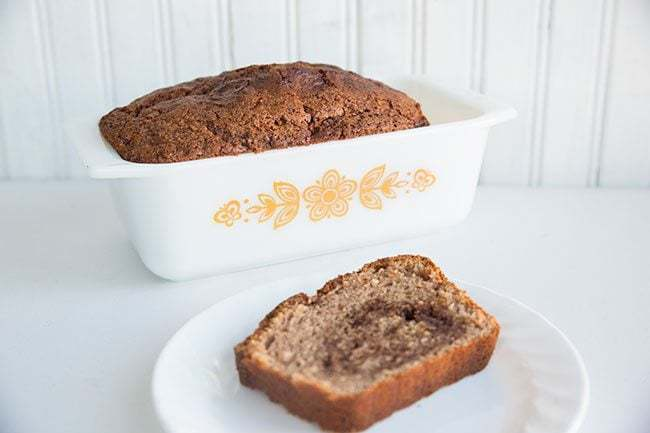 Cinnamon Swirl Loaf from @kitchenmagpie . A super easy loaf that has a delicious cinnamon swirl surprise in the middle!