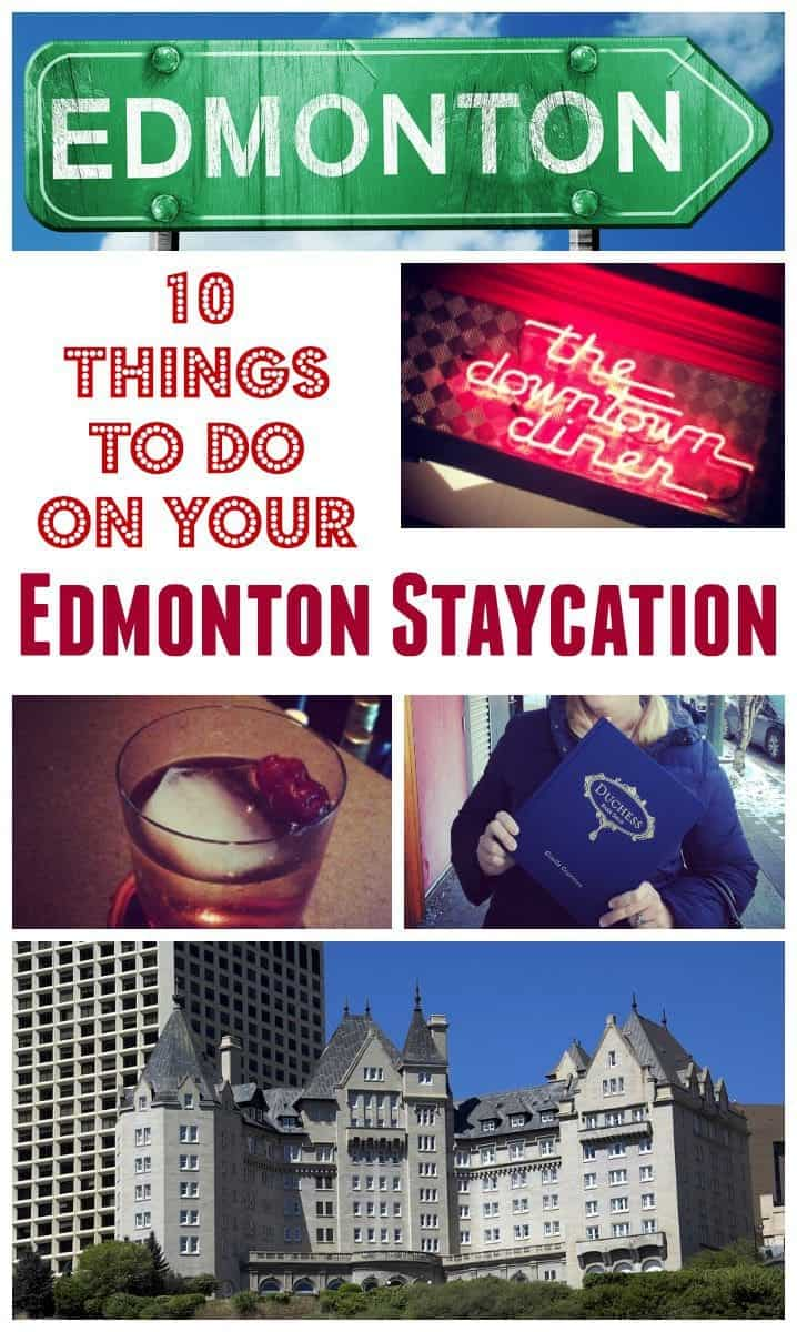 My top things to do in Edmonton, Alberta if you're looking for a staycation at home! Or, if you are visiting Edmonton soon, save this interesting list of things to do that AREN'T the local zoo for a change!