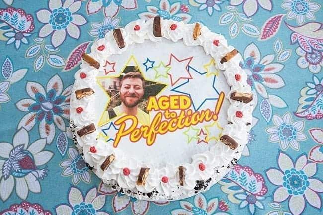 Marble Slab photo cake