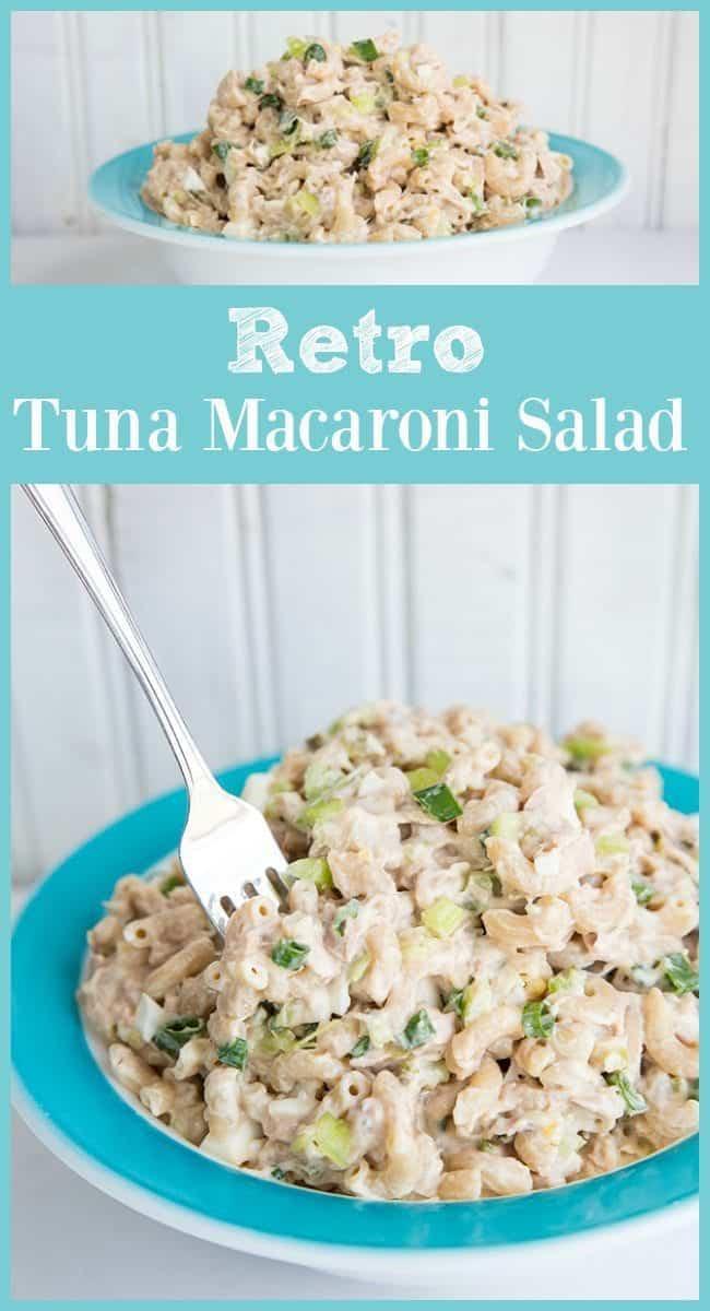 REtro Tuna Macaroni SaladM