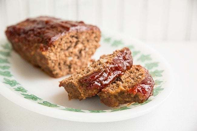 Retro Sweet & Sour Meatloaf from @kitchenmagpie