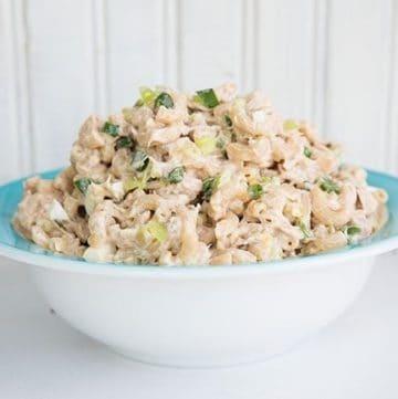 Retro Tuna Macaroni Salad