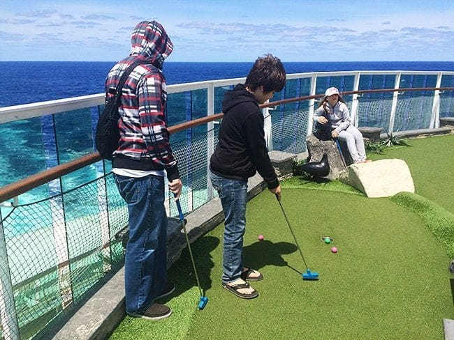 Royal Caribbean's Brilliance of the Seas Mini Golf