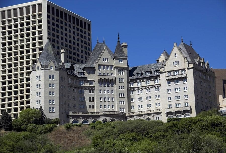 View of Fairmont Hotel MacDonald