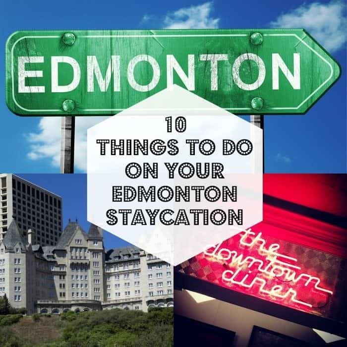 collage of edmonton staycation square
