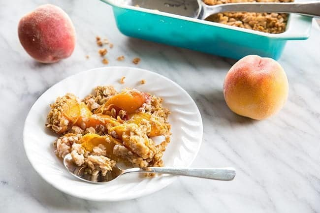 Healthy-Breakfast-Peach-Crisp