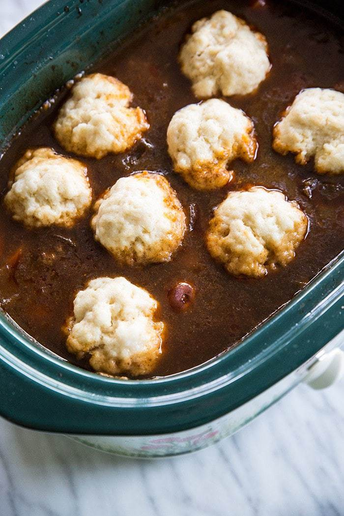 How To Make Slowcooker Or Crockpot Dumplings The Kitchen