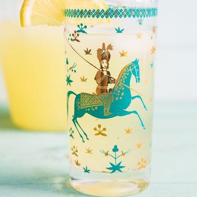 Sparkling Honey Bourbon Lemonade