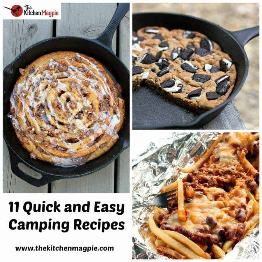 11 quick and easy camping recipes the kitchen magpie. Black Bedroom Furniture Sets. Home Design Ideas