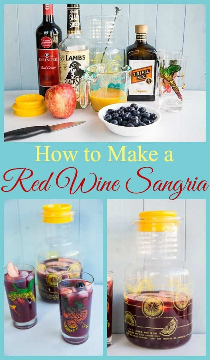 How to Make a Red Wine Sangria from @kitchenmagpie