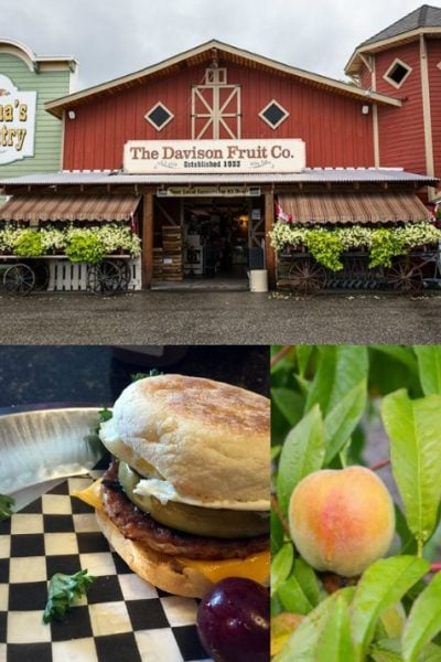 Visiting Davison Orchards in Vernon, British Columbia