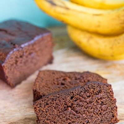 Banana Gingerbread Loaf