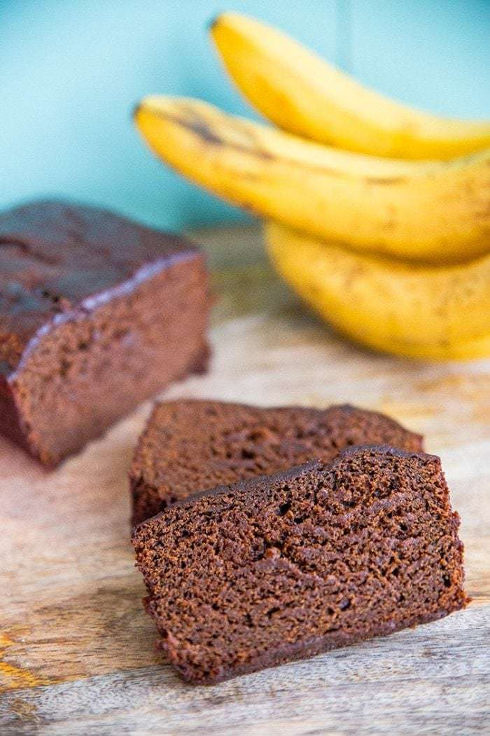 Banana Gingerbread Loaf from @kitchenmagpie