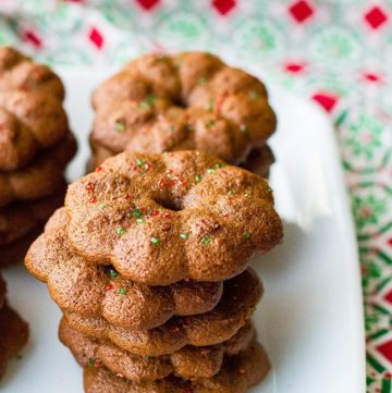 Cookie Press Gingersnap Cookies