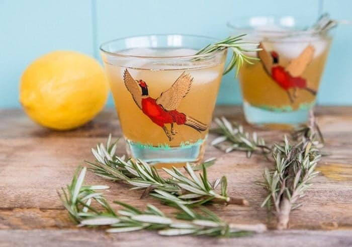 Maple Rosemary Bourbon Sour from @kitchenmagpie