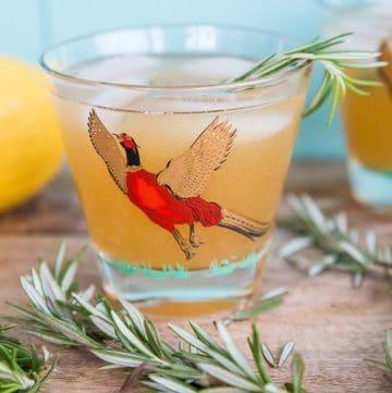 Maple Rosemary Bourbon Sour