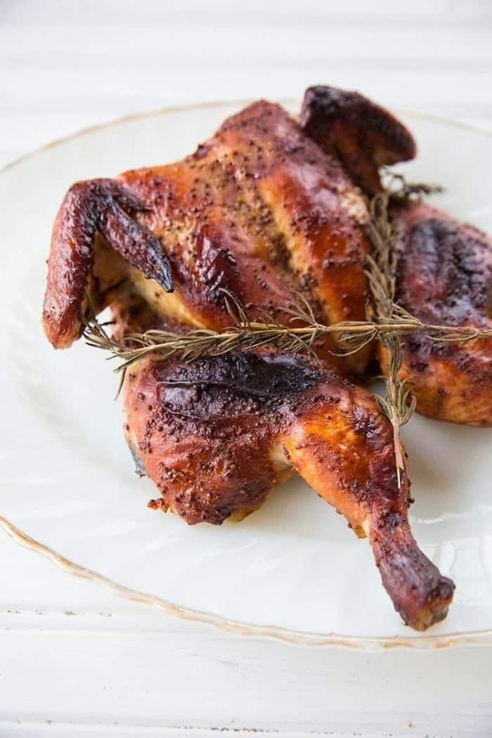 spatchcockedbakedhoneymustardchicken