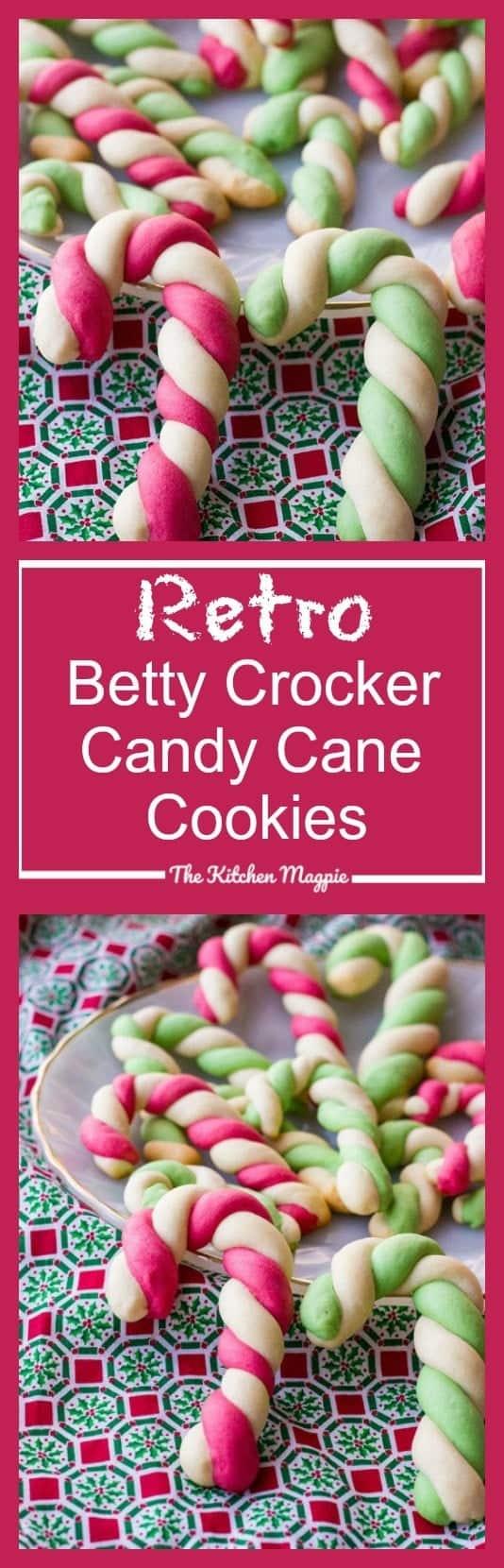 53 Retro Betty Crocker Candy Cane Cookies