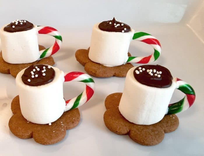 A Cup of Hot Cocoa Cookies