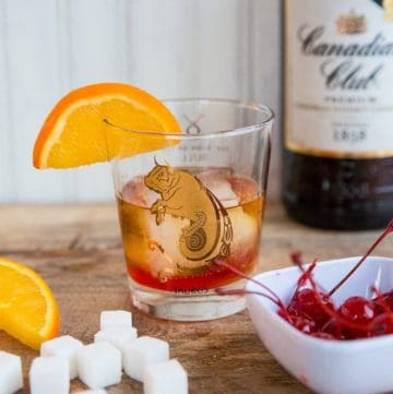 1960's Old Fashioned Cocktail Recipe