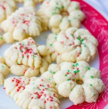 Old Fashioned Classic Spritz Cookies