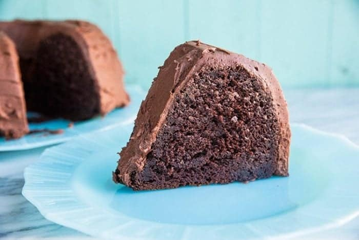 Chocolate Avocado Bundt Cake. This cake is full of eggs, butter and avocado that makes it the most decadent chocolate cake you will ever eat!