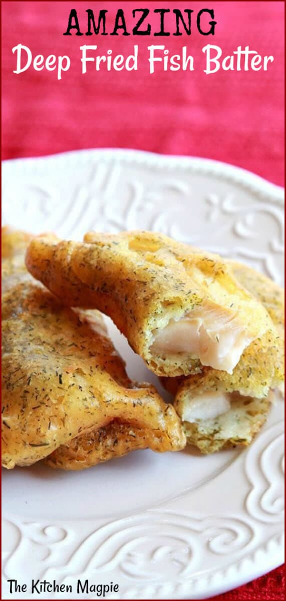 How to make the best battered, deep fried Haddock at home! This is the best batter ever! #deepfried #fish