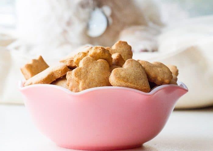 Peanut Butter & Honey Homemade Dog Treats